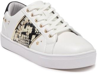 Aldo Clain Snake-Embossed Sneaker