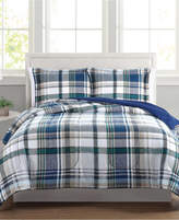 Pem America Beaufort Reversible 3-Pc. Full/Queen Comforter Set, a Macy's Exclusive Style Bedding