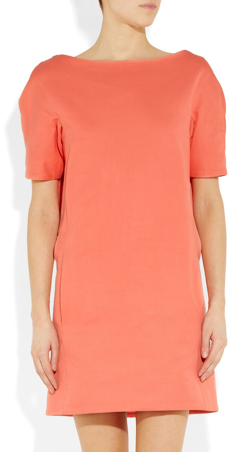Chalayan Double-faced cotton dress