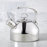 Crate & Barrel Chantal © Classic Stainless Steel Whistling Tea Kettle