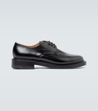Comme des Garçons Homme Officer Gibson leather shoes