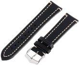 Hirsch 109002-50-20 20 -mm Genuine Calfskin Watch Strap