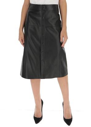 Saint Laurent Buttoned Skirt