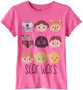 Disney Disney's Tsum Tsum Star Wars Girls 7-16 Graphic Tee