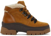 Thumbnail for your product : See by Chloe Tan Suede Aure Boots