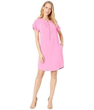 Trina Turk Sky Dress (Pink Fusion) Women's Dress