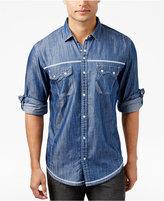 INC International Concepts Men's Dual Pocket Chambray Shirt, Only at Macy's