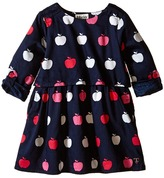 Hatley Nordic Apples Cotton Satteen 2 Layer Dress (Toddler/Little Kids/Big Kids)