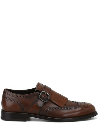 Tod's Monk Strap Brogue Shoes