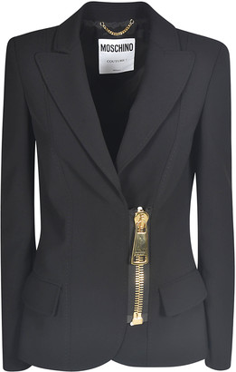 Moschino Zipped Blazer