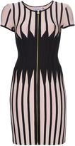 Herve Leger panel dress