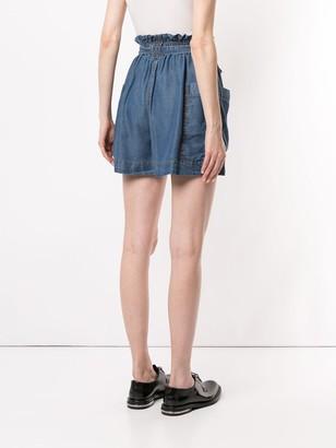 Karen Walker Denim Shorts