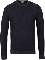 Boss Orange Amindo Charcoal Grey Crew Neck Sweater