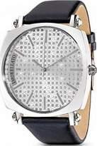 Morellato Ischia SEU006 Women's Analog Quartz Watch with White Back, Diamond Powder and Black Satin Strap