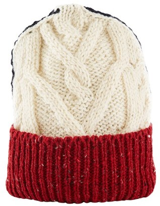 Thom Browne Aran Cable wool and mohair beanie