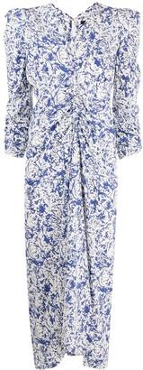 Isabel Marant Maray abstract-print dress
