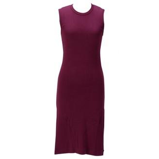 Comme des Garcons Purple Cotton Dresses
