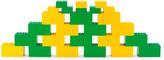 Green & Yellow Building Blocks Set
