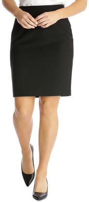 Basque Essential Pencil Suit Skirt