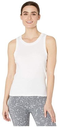 Splendid Studio Jill Tie Back Tank (White) Women's Clothing