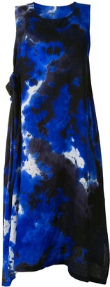 Y's Sleeveless Tie-Dye Dress