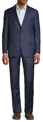 Hickey Freeman Classic-Fit Wool Suit