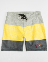 Rusty Splatter Block Mens Boardshorts