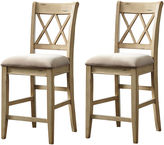Signature Design by Ashley Mestler Set of 2 Upholstered Barstools