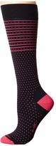 Icebreaker Lifestyle Fine Gauge Ultra Light Over The Calf Amelia Women's Crew Cut Socks Shoes