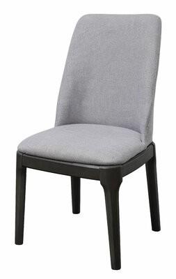 Latitude Run Wangara Upholstered Parsons Chair in Gray