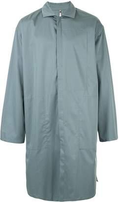Oamc oversized longline overshirt