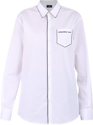 DSQUARED2 Contrast Blouse