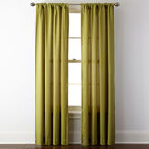 JCP HOME JCPenney HomeTM Rialto Rod-Pocket/Back-Tab Curtain Panel