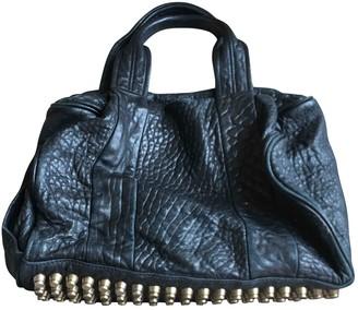Alexander Wang Rocco Black Exotic leathers Handbags