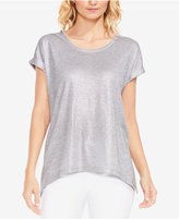 Vince Camuto Two By Metallic T-Shirt