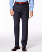 DKNY Navy Tight-Stripe Pants Extra Slim Fit
