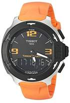 Tissot Men's Quartz Watch with Black Dial Analogue Display – Digital Quartz Rubber T081.420.17.057.02