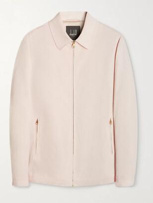 Dunhill Cotton-Seersucker Blouson Jacket