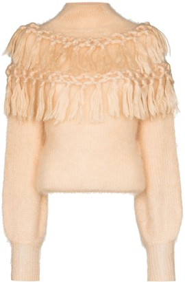 Zimmermann Lady fringed-detail jumper
