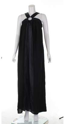 Maje \N Black Silk Dresses