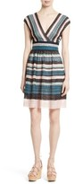 M Missoni Women's Metallic Ribbon Lace Dress