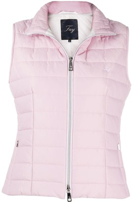 Fay Fitted Padded Gilet