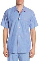 Polo Ralph Lauren Men's Woven Cotton Pajama Top