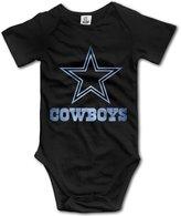 BFDGWEW Kids Baby Dallas Cowboys Pond Logo Romper Jumpsuit