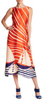 Eva Franco Kelsey Graphic Midi Dress