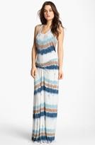 Young Fabulous & Broke Young, Fabulous & Broke 'Hamptons' Tie Dye Stripe Maxi Dress