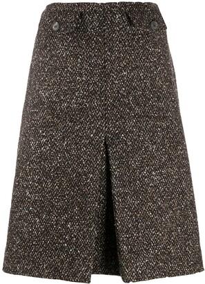 Victoria Beckham Falda tweed skirt