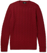 Dunhill - Cable-knit Cashmere Sweater