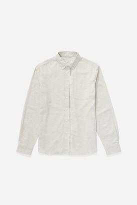 Saturdays NYC Crosby Flannel Button Down Shirt