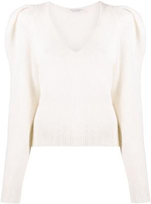 Philosophy di Lorenzo Serafini Puff-Shoulder Knitted Jumper